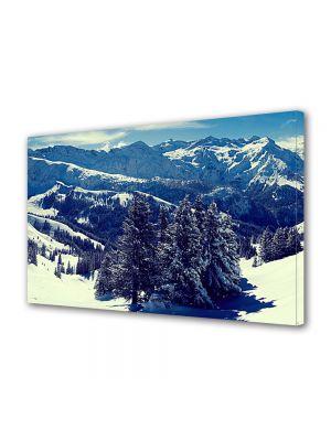 Tablou Canvas Iarna Panorama montana