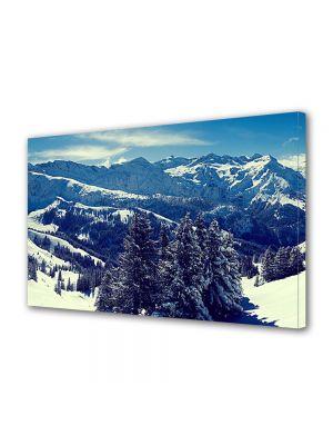Tablou Canvas Iarna Panorama superba