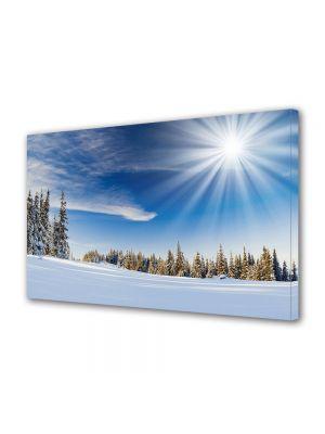 Tablou Canvas Iarna Soare puternic