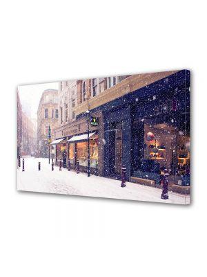Tablou Canvas Iarna Iarna in oras