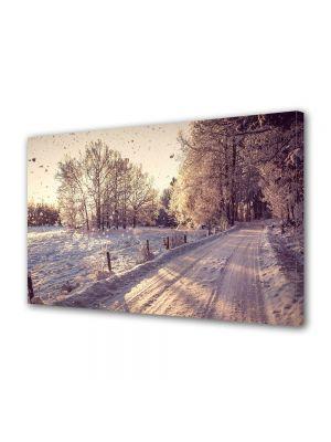 Tablou Canvas Iarna Sepia