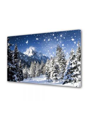 Tablou Canvas Iarna Ninsoare ireala