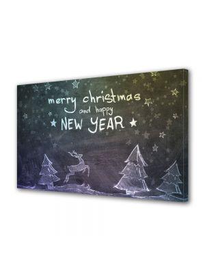 Tablou Canvas Iarna Happy New Year
