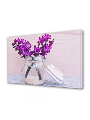 Tablou Canvas Flori Zambile Violet