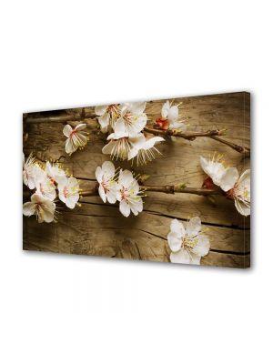 Tablou VarioView MoonLight Fosforescent Luminos in intuneric Flori Flori albe