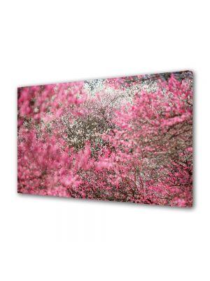Tablou Canvas Luminos in intuneric VarioView LED Flori Ninge cu petale