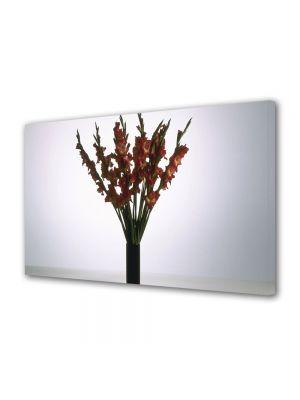 Tablou VarioView MoonLight Fosforescent Luminos in intuneric Flori Flori rosii in vaza