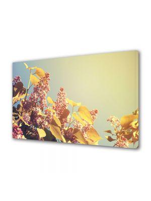 Tablou Canvas Luminos in intuneric VarioView LED Flori Soare bland