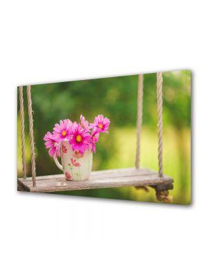 Tablou Canvas Flori Flori in leagan