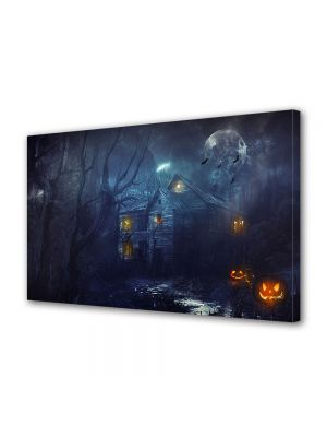 Tablou Canvas Halloween Halloween casa parasita