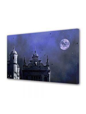 Tablou Canvas Halloween Cladiri gotice