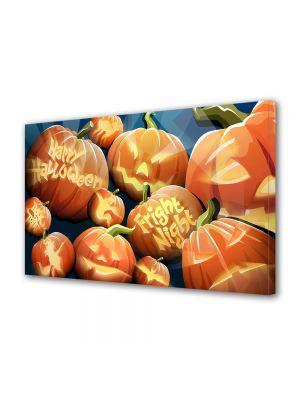 Tablou Canvas Halloween Figuri de dovleci de sarbatoare