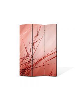 Paravan de Camera ArtDeco din 3 Panouri Abstract Decorativ Abstract 105 x 150 cm