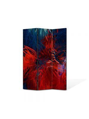 Paravan de Camera ArtDeco din 3 Panouri Abstract Decorativ Compozitie 135 x 180 cm