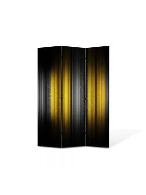 Paravan de Camera ArtDeco din 3 Panouri Abstract Decorativ Rama 105 x 150 cm