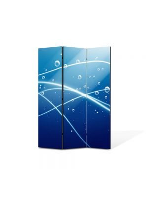 Paravan de Camera ArtDeco din 3 Panouri Abstract Decorativ Oxigen 105 x 150 cm