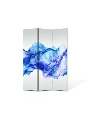 Paravan de Camera ArtDeco din 3 Panouri Abstract Decorativ Timp oprit 105 x 150 cm