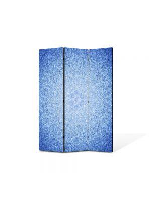 Paravan de Camera ArtDeco din 3 Panouri Abstract Decorativ Model subtil 105 x 150 cm