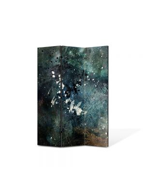 Paravan de Camera ArtDeco din 3 Panouri Abstract Decorativ Artistic 105 x 150 cm