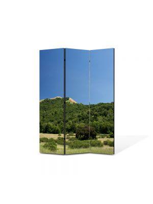 Paravan de Camera ArtDeco din 3 Panouri Peisaj Podis 105 x 150 cm