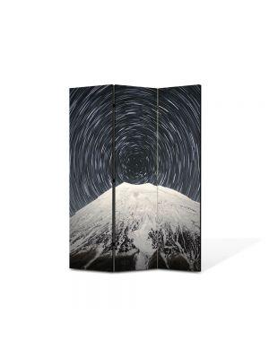 Paravan de Camera ArtDeco din 3 Panouri Peisaj Spirala 105 x 150 cm
