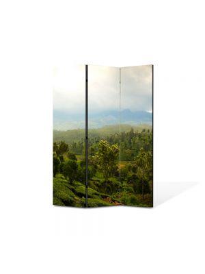 Paravan de Camera ArtDeco din 3 Panouri Peisaj Vietnam 105 x 150 cm