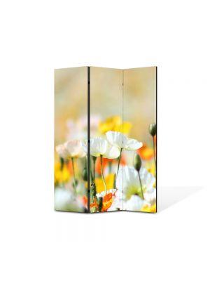 Paravan de Camera ArtDeco din 3 Panouri Peisaj Inghesuiala delori 105 x 150 cm