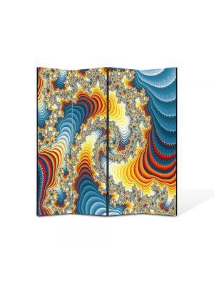 Paravan de Camera ArtDeco din 4 Panouri Abstract Decorativ Diamante 140 x 150 cm