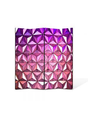 Paravan de Camera ArtDeco din 4 Panouri Abstract Decorativ Ultramodern 140 x 150 cm