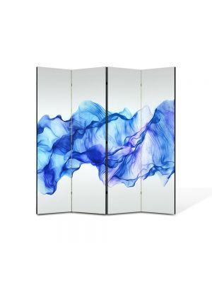 Paravan de Camera ArtDeco din 4 Panouri Abstract Decorativ Timp oprit 140 x 150 cm