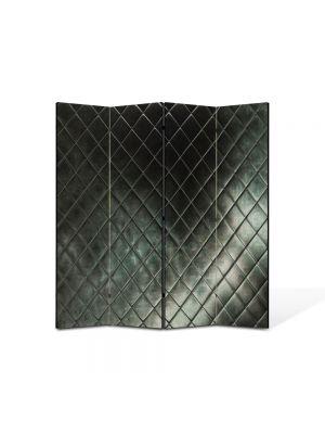 Paravan de Camera ArtDeco din 4 Panouri Abstract Decorativ Faianta 140 x 150 cm