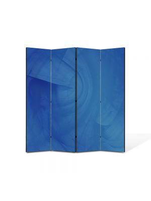 Paravan de Camera ArtDeco din 4 Panouri Abstract Decorativ Trepte elicoidale 140 x 150 cm