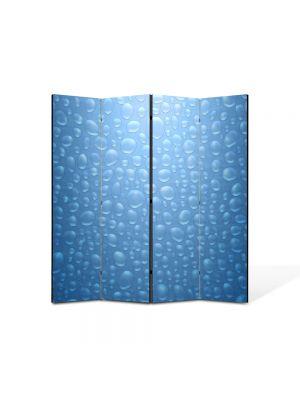 Paravan de Camera ArtDeco din 4 Panouri Abstract Decorativ Bruma 140 x 150 cm
