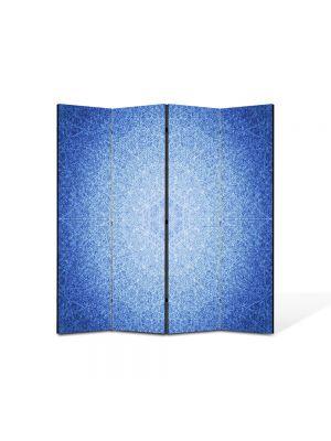 Paravan de Camera ArtDeco din 4 Panouri Abstract Decorativ Model subtil 140 x 150 cm