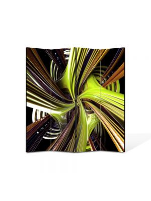 Paravan de Camera ArtDeco din 4 Panouri Abstract Decorativ Vartej 140 x 150 cm
