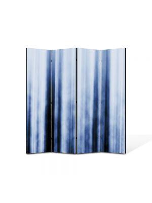 Paravan de Camera ArtDeco din 4 Panouri Abstract Decorativ Fascicule luminoase 140 x 150 cm