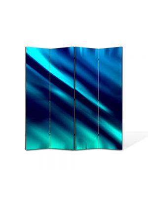 Paravan de Camera ArtDeco din 4 Panouri Abstract Decorativ Labirint 140 x 150 cm
