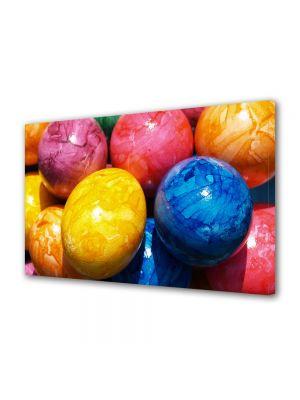 Tablou Canvas Sarbatori Paste Multiple oua colorate
