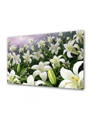 Tablou Canvas Sarbatori Paste Camp cu flori parfumate de primavara