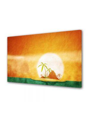 Tablou Canvas Luminos in intuneric VarioView LED Peisaj Insule tropicale