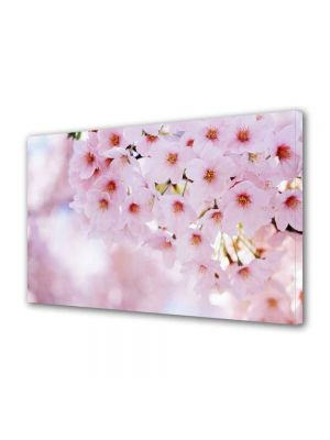 Tablou Canvas Luminos in intuneric VarioView LED Peisaj Buchet de flori roz