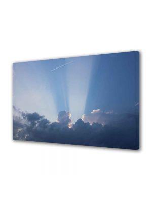 Tablou VarioView MoonLight Fosforescent Luminos in intuneric Peisaje Raze prin nori