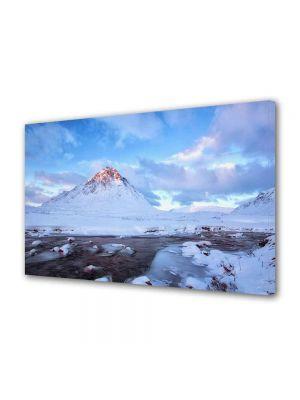 Tablou Canvas Luminos in intuneric VarioView LED Peisaj Cel mai inalt munte