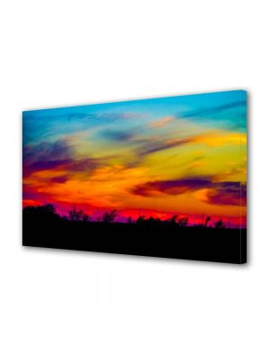 Tablou Canvas Peisaj Culorile apusului