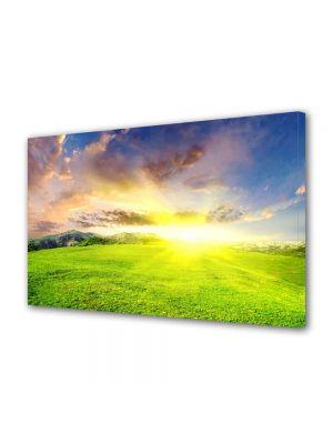 Tablou Canvas Luminos in intuneric VarioView LED Peisaj Campie perfecta
