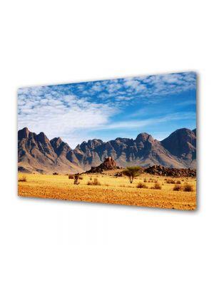 Tablou Canvas Luminos in intuneric VarioView LED Peisaj In desert