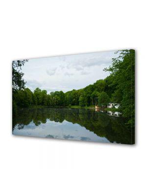 Tablou Canvas Peisaj Liniste pe lac