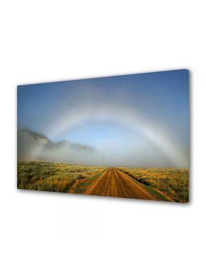 Tablou Canvas Luminos in intuneric VarioView LED Peisaj Curcubeu atipic