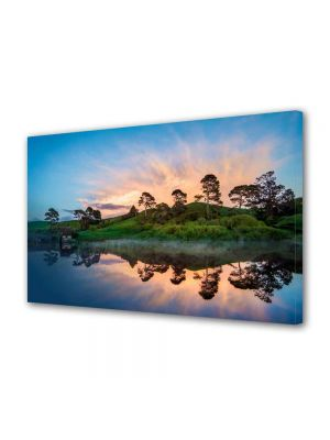 Tablou Canvas Luminos in intuneric VarioView LED Peisaj Olginda perfecta