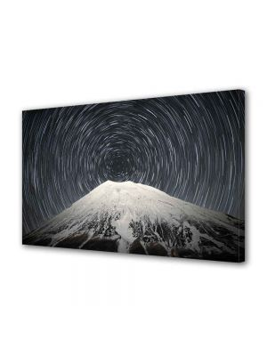 Tablou Canvas Luminos in intuneric VarioView LED Peisaj Spirala